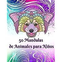50 Mandalas de Animales para Niños: Libro