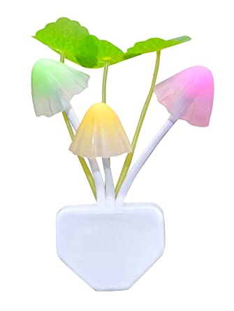 9032fafe3 Inspire Cloud Color Changing Automatic Sensor, led Automatic on/Off  Mushroom Night Lamp (12 cm, Multicolor)