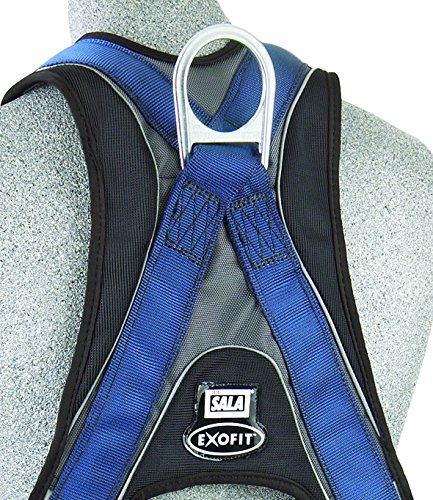 3M DBI-SALA ExoFit Vest Style Harness, Back D-Ring, Medium, 1107976 by 3M Fall Protection Business (Image #2)