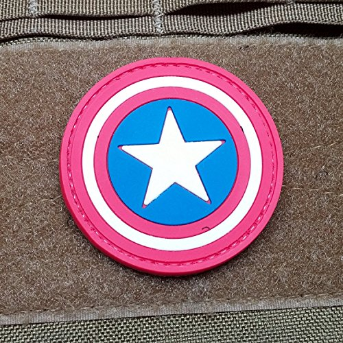 Captain America Morale Patch PVC