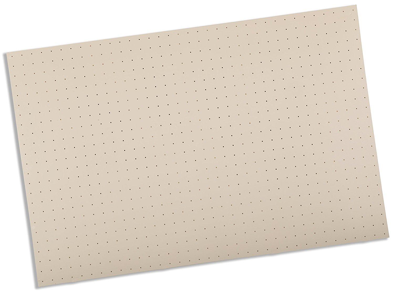 Rolyan Splinting Material Sheet, Tailor Splint, Beige, 1/8'' x 24'' x 36'', 1% Perforation, Single Sheet