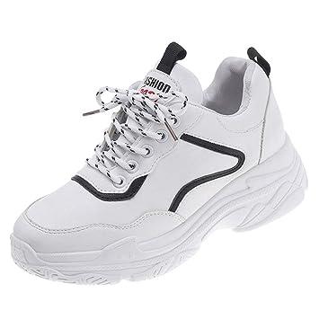 moderne et élégant à la mode Design moderne marque populaire Baskets Compensée Femme Chaussures Sport Montante Sneakers ...