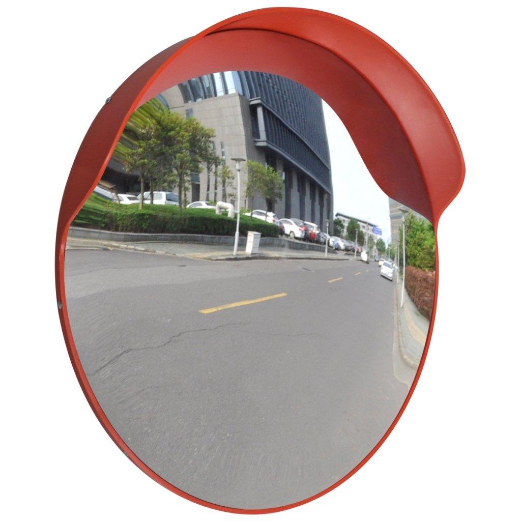 Anself Convex Security Mirror PC Plastic Orange 24'' Outdoor
