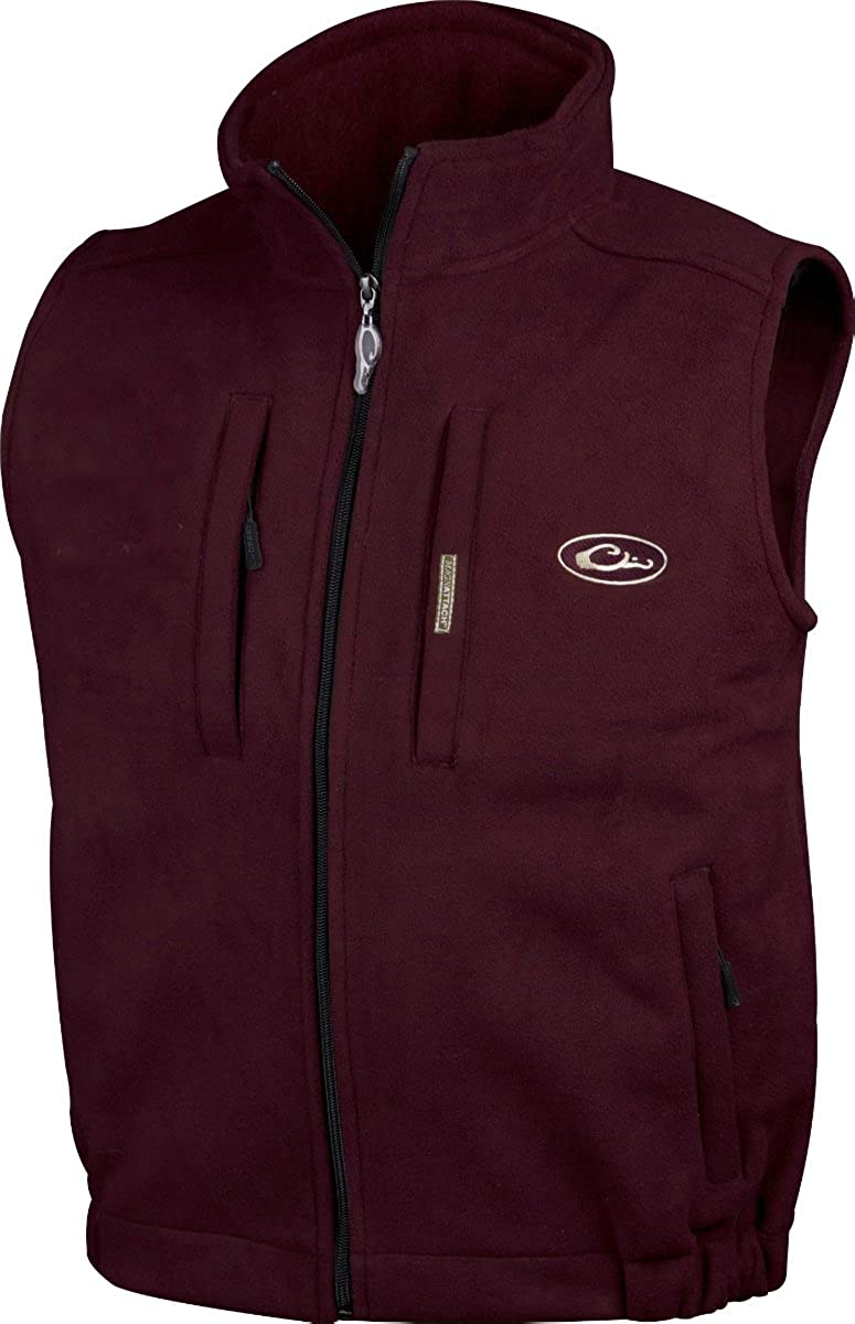 Drake Waterfowl Mens Casual Windproof Layering Vest