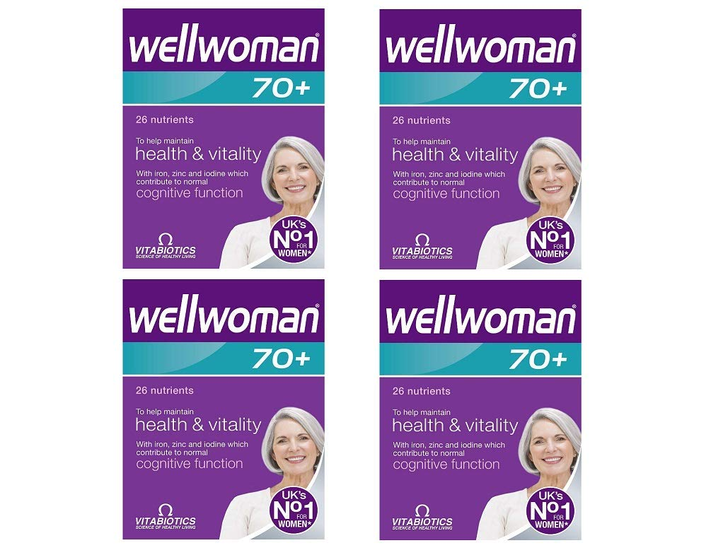 Vitabiotics | Wellwoman 70+ Tablets | 4 x 30s