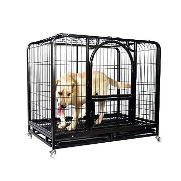 QNMM Perro Cuadrado Grande para Mascotas Jaula para Perros Cerca de Mascotas Jaula para Perros Jaula