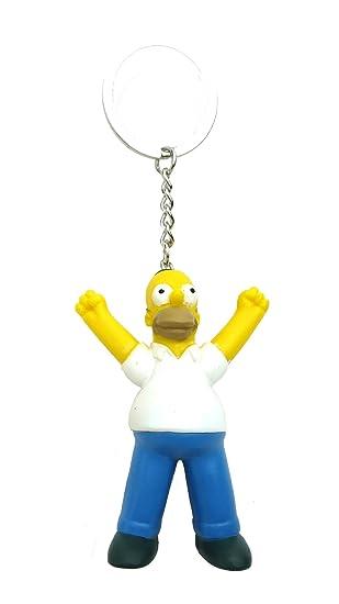 Fox The Simpsons Homer 3D PVC Llavero: Amazon.es: Juguetes y ...