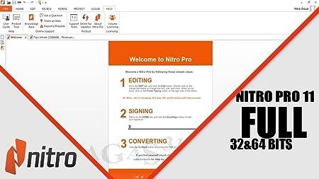 nitro pro 11 serial number 64 bit