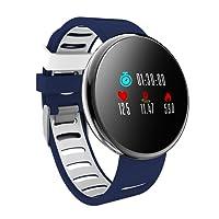 YoYoFit Orologio Fitness Activity Tracker, Impulsi Pressione Sanguigna Pedometro Impermeabile Monitoraggio della Frequenza Funzione di Gioco Smart Watch Android iOS Uomo Donna Bambini