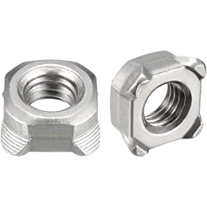 A2 Stainless Steel Square Nuts Thin Type DIN 562 M2-5 Pack