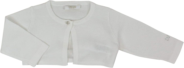 Liu Jo Luxury Fashion Baby-Girls Jacket Summer White
