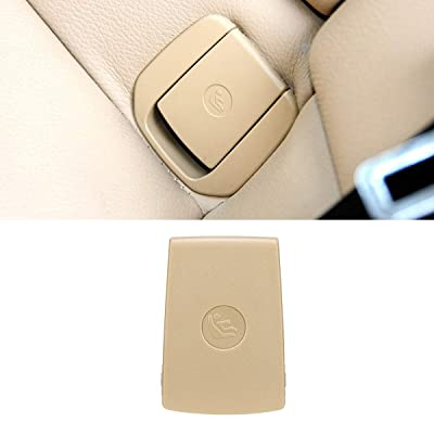 Jaronx for BMW Child Seat Anchor Cover,Rear Row Seat Safety Belt Anchor Cover for BMW 1 Series F20 F21 /2 Series F22 F87 F23 / 3 Series F30 F31 F34 F80 (Beige, Anchor Cover): Automotive