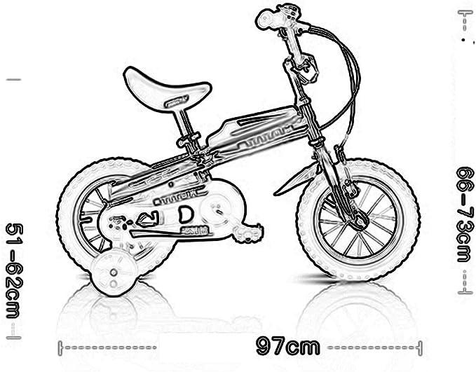 Bicicletas YANFEI Niños Vienen en Dos Colores: Tamaño 12, 14 ...