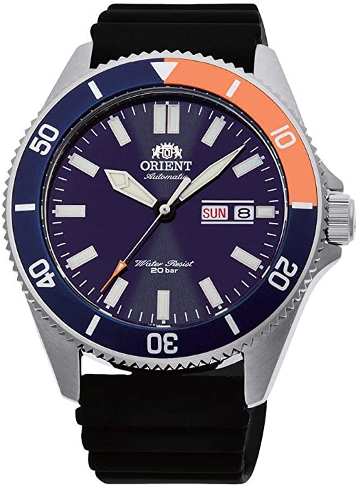 Amazon.com: Orient Kanno Automatic Blue Dial Men's Watch RA-AA0916L19B:  Watches