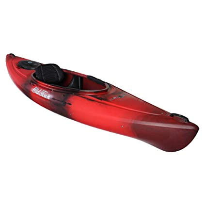 Amazon Com Old Town Heron 9xt Recreational Kayak Black Cherry 9