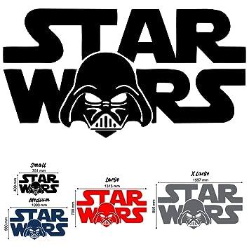 Star Wars Darth Vader Wall Decal Art Sticker boy/'s bedroom playroom hall