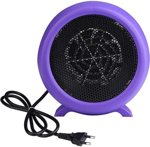 Zerodis Mini Calentador, 500 W Calentador de Ventilador eléctrico ...
