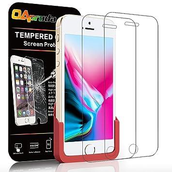 75e7384414 Amazon | 【ガイド枠付き 】【2枚セット】OAproda iPhone SE / 5S / 5 ...