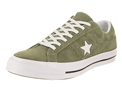 52b8b7156cd7c2 Converse Unisex One Star Ox Field Surplus White White Casual Shoe 8 Men US