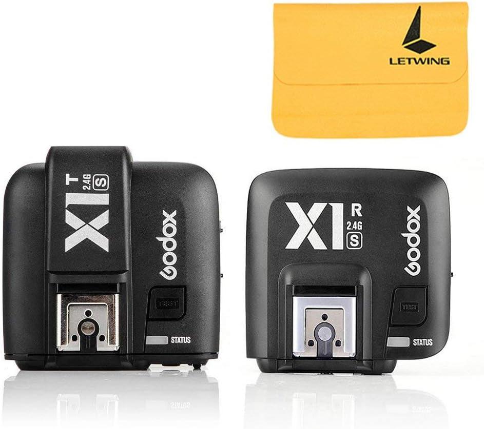 GODOX X1R-S TTL 2.4G 1//8000s HSS Wireless Flash Receiver for X1S Trigger Transmitter Sony A58 A7RII A99 A7R A6300 etc Cameras,GODOX X1T-S Wireless Flash Trigger Transmitter for Sony DSLR Cameras