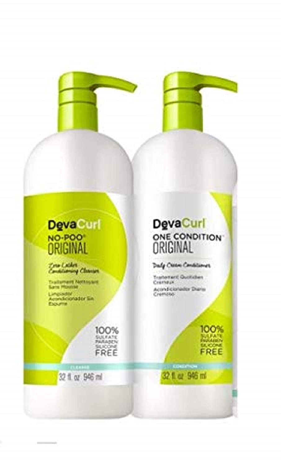Devaconcepts Devacurl - One Condition 32 OZ + No-Poo Dev-8080