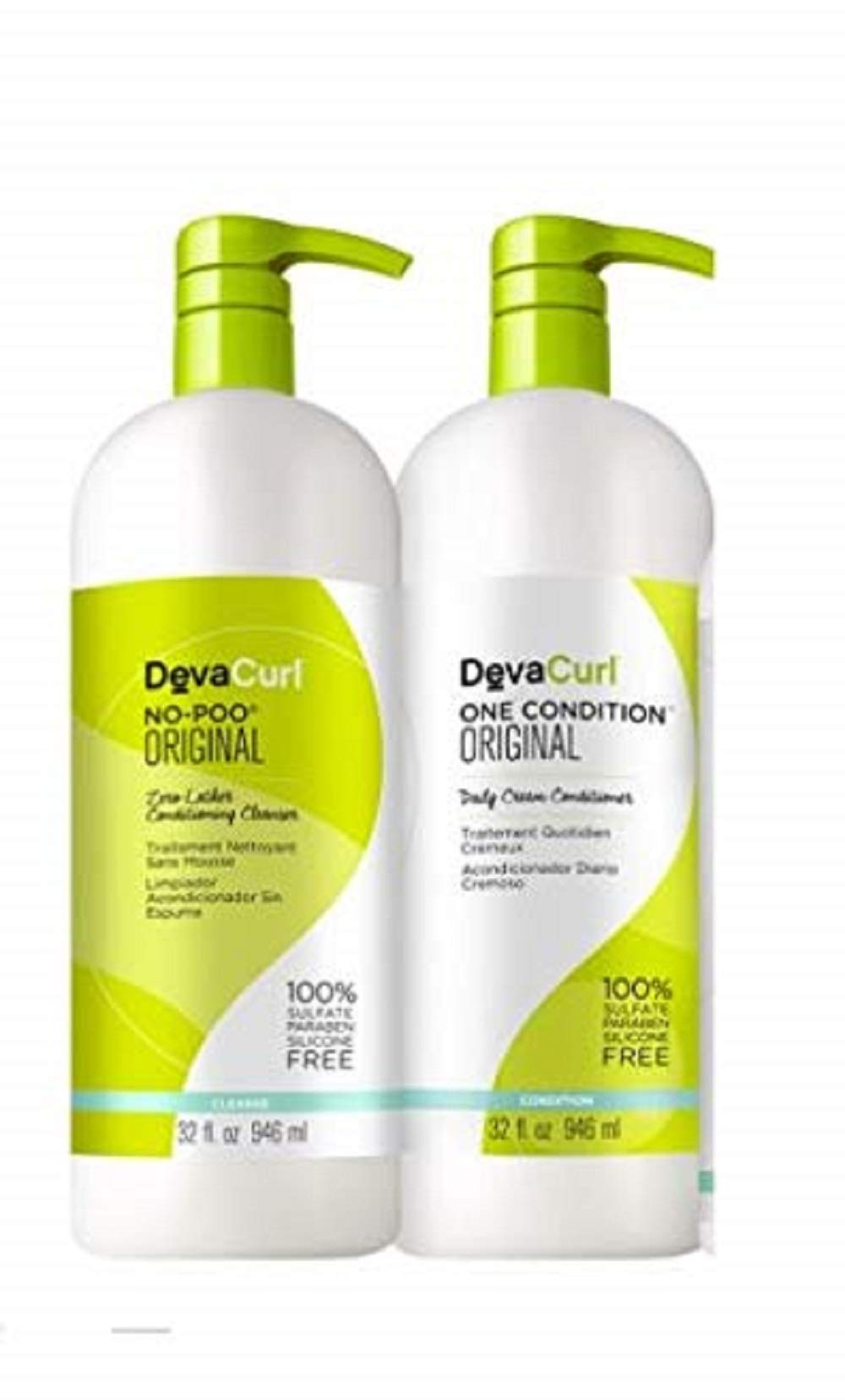 DevaCurl DUO - One Condition 32oz + No-Poo 32oz