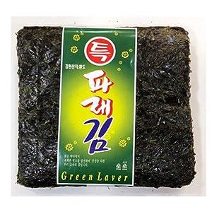 200 Sheets of Korean Parae Seaweed Dried Laver KOREA Healthy FOOD Sushi Gimbab Nori