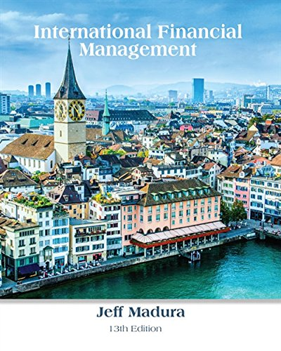 International Financial Management by Cengage Learning