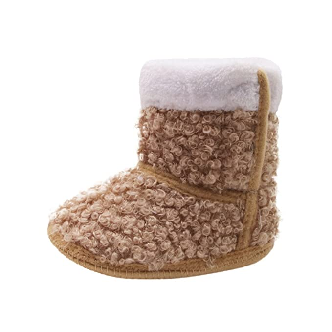 ❤ Zapatos Prewalker para bebé, Toddler Newborn Baby Sólido Suela Suave Botas Prewalker Warm Shoes Zapatos Bebe niña Absolute: Amazon.es: Ropa y ...
