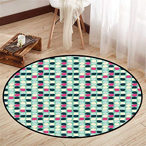Circle Floor mat Under Crate Round Indoor Floor mat for sale  Delivered anywhere in USA