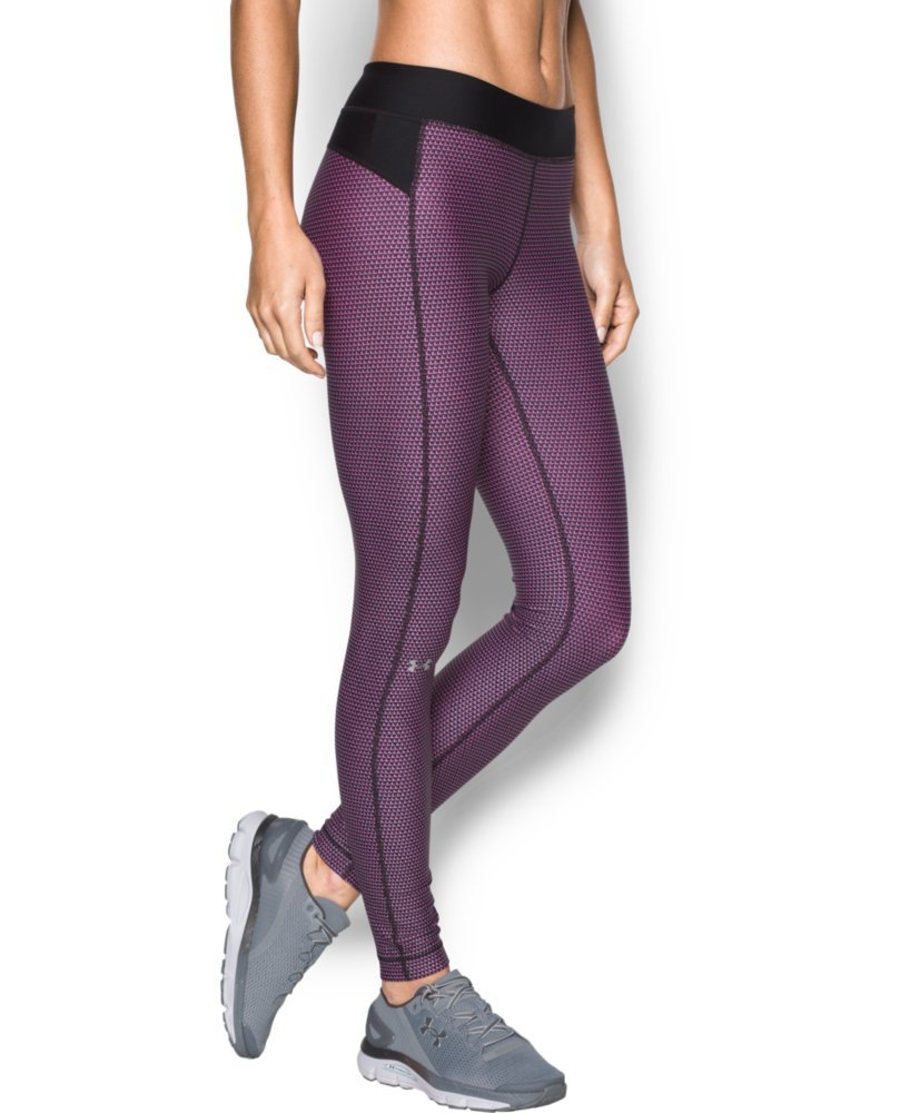 Under Armour Women's UA HeatGear Armour Printed Legging X-Small Black