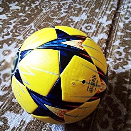 zuq Balón de fútbol de tamaño 5 sin Costuras, Pelota de fútbol ...