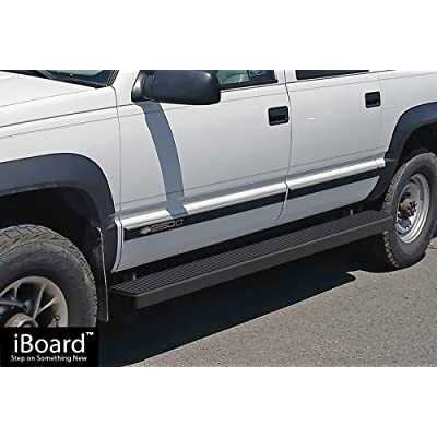 """For 1992-1999 Chevy Suburban 3/"""" Side Step Rails Nerf Bars Running Boards"""