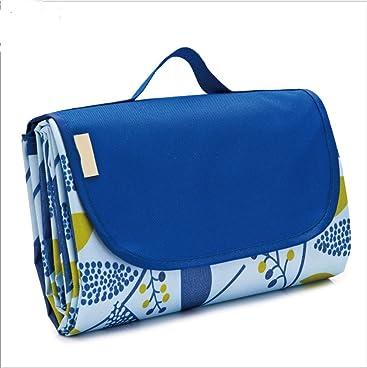 ZAQWSX Picknickdecke Zeltteppich mit Tragegurt und Tasche