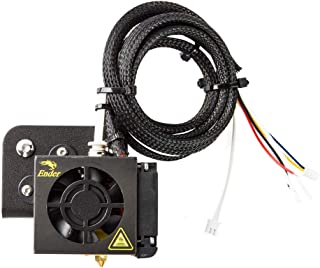 Creality 3D Hotend Kits Assembled Nozzle Extruder with Double Cooling Fans Hot End Kit Set for Ender 3 and CR-20
