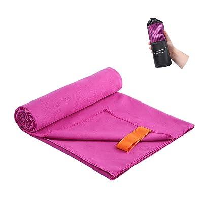 Soft Towels Quick-Dry Microfiber Bath Towel Gym Sport Travel Beach easy to carry