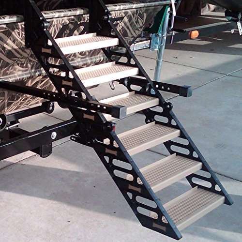 WAG Boarding Steps for Hunting Boats - Model LM-6H (Marsh...