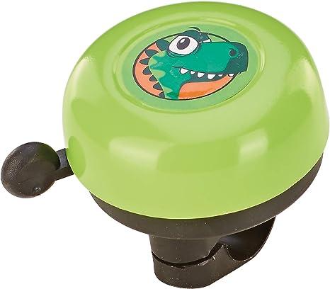 Prophete Kinderrad-Glocke, grün mit Dino-Motiv Timbre para ...