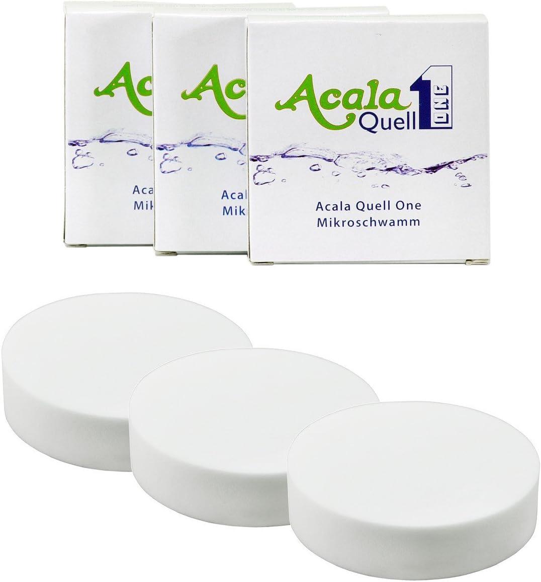 Set de 3 micro esponjas de AcalaQuell para AcalaQuell One Swing y ...