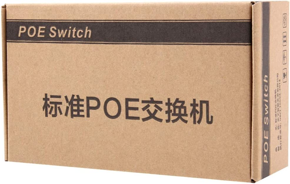 Networking Devices 8 Ports 10//100Mbps POE Switch IEEE802.3af Power Over Ethernet Network Switch for IP Camera VoIP Phone AP Devices