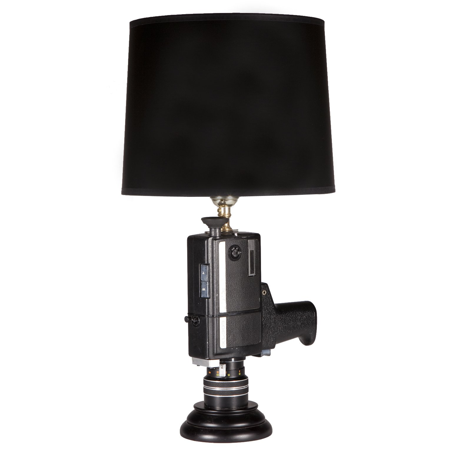 Unique Up-cycled Movie Camera Table Lamp