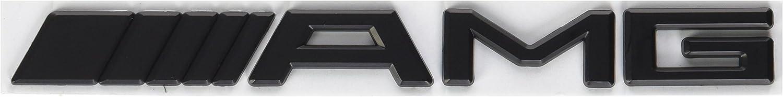 Badge for Mercedes Benz Decal Emblem Car Sticker *** USA SELLER *** Black AMG