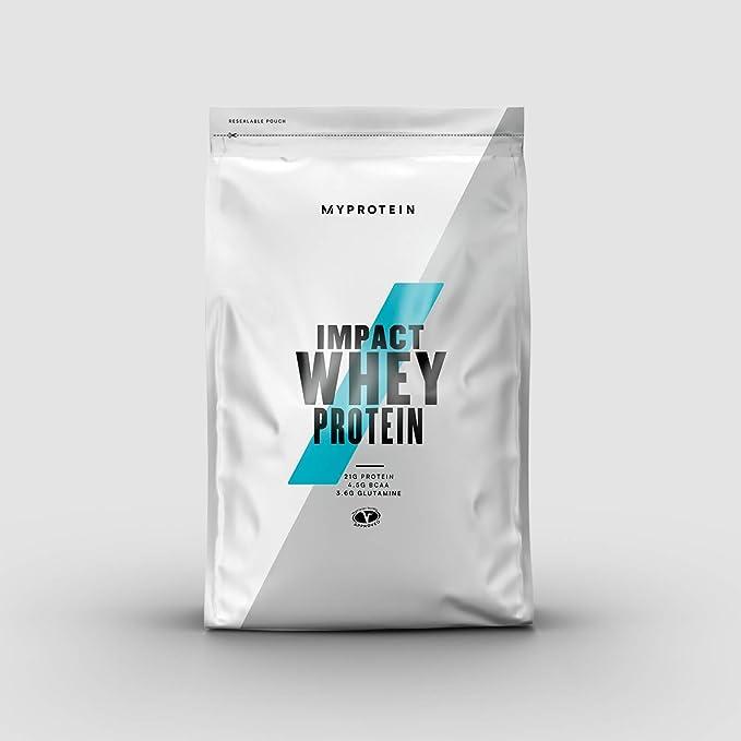 MyProtein Impact Whey Proteína de Suero, Sabor Chocolate Natural - 5000 gr: Amazon.es: Salud y cuidado personal