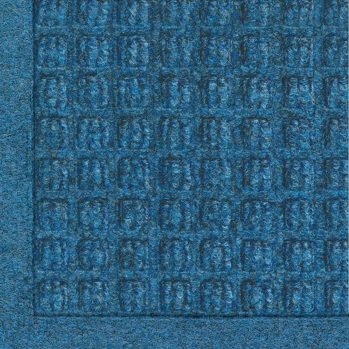 M+A Matting 280 WaterHog Fashion Polypropylene Fiber Entrance Indoor/Outdoor Floor Mat, SBR Rubber Backing, 6' Length x 4' Width, 3/8