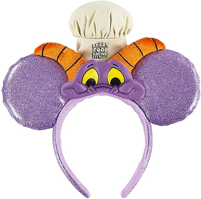 NEW Run Disney Kids Races Figment Mickey Ear Hat Food and Wine Festival Youth