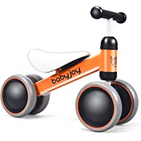 Baby Balance Bike, Infant Toddler Ride On Bikes, 4 Wheels Toddler Mini No Pedal First Bike, Baby Ride on Walker for Boys…