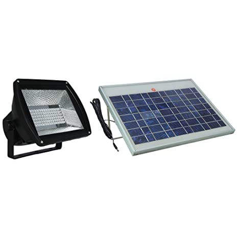 FL05 Solar 108 LED Flag Pole Light (10 Watt Solar Panel) - Flood