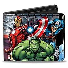 Buckle-Down Marvel Avengers Wallet Marvel Avengers Superhero Action Pos Accessory