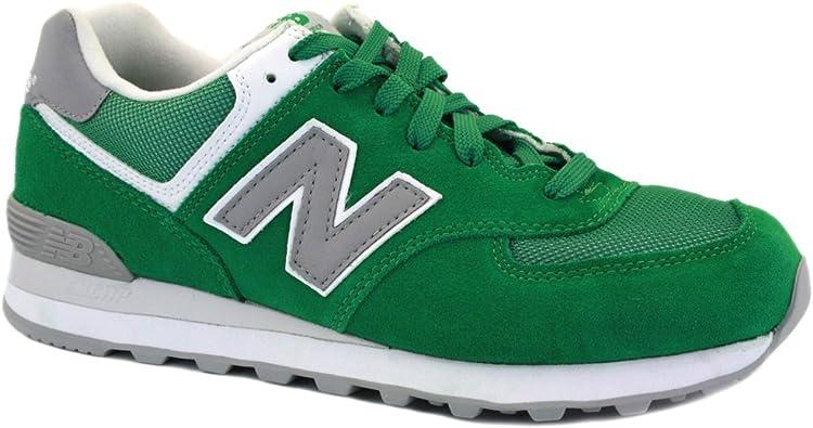 574 new balance hombre verde