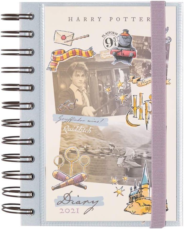 Grupo Erik AGEDP2110 - Agenda anual 2021 Harry Potter, Día página (11,4x16 cm)